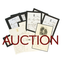 Auction | Autographs, Manuscripts, Signed Photographs and Signed Books Including material from the collection of The Hon Barry
