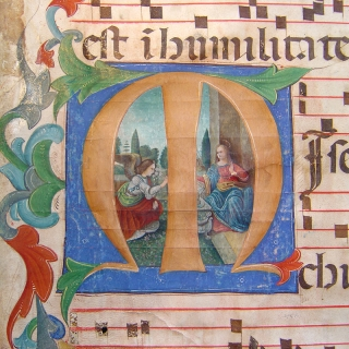 Exhibition and Sale of Medieval Manuscripts