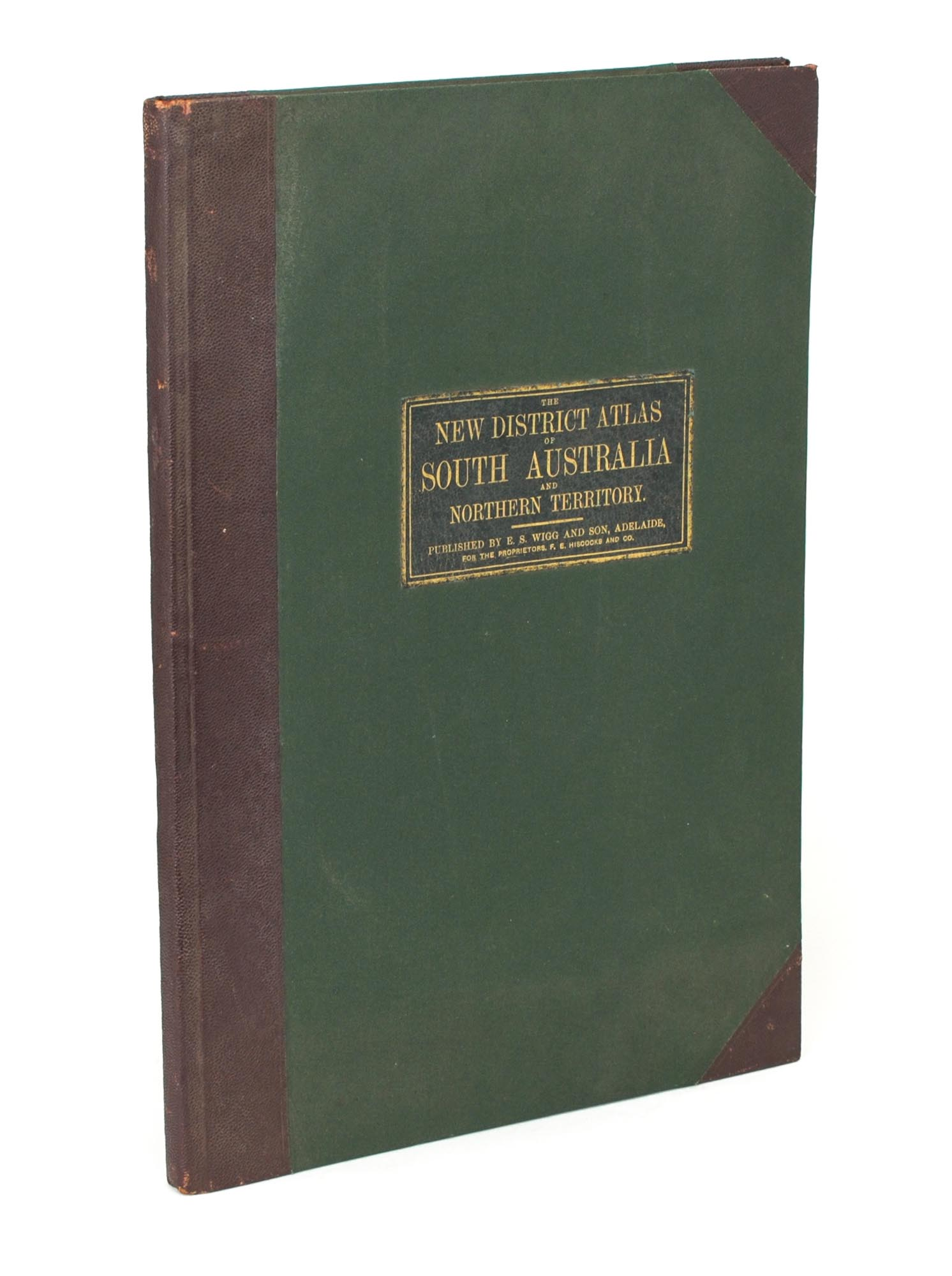 Map Of South Australia And Northern Territory.The New Counties Hundreds District Atlas Of South Australia And