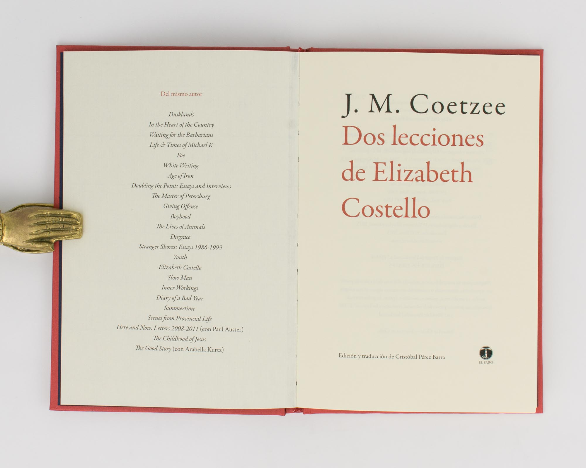 Elizabeth Costello (Spanish Edition)