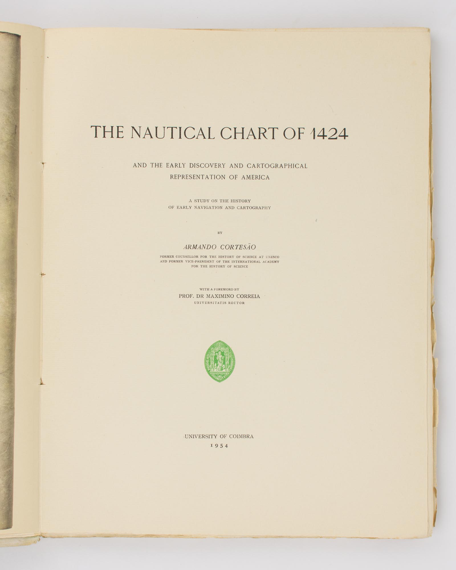 The Nautical Chart of 1424 and the Early Discovery and Cartographical  Representation of America  A Study of the History of Early Navigation and