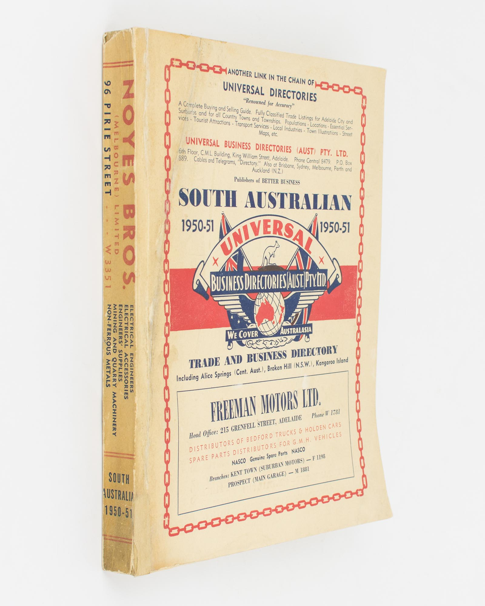 Universal Business Directory for South Australia  Covering more than 650  Towns and Townships    1950-51  Ninth Edition by Trade Directory on Michael