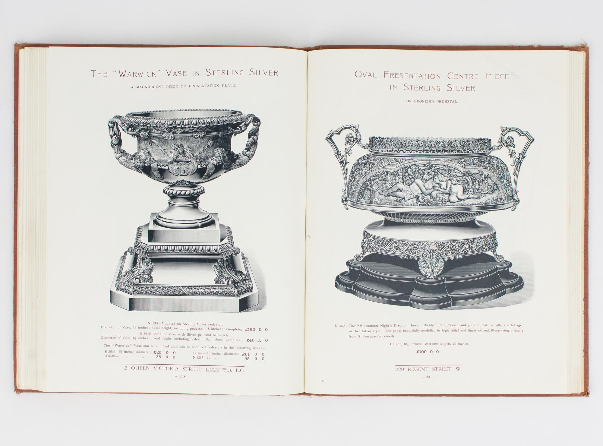 Mappin & Webb 1908 Ltd. Manufacturing Goldsmiths and