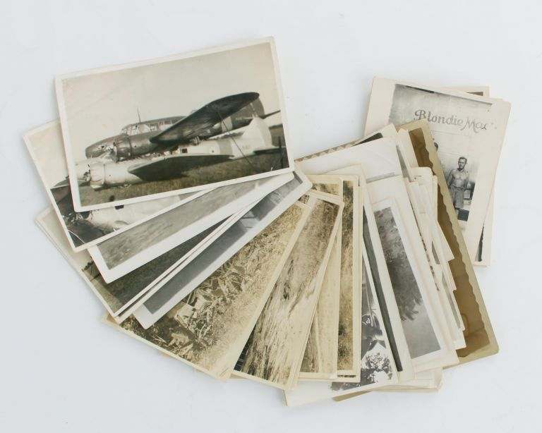 A collection of 37 vintage snapshots, almost all of them taken at Balikpapan after the major battle there in July 1945. Borneo Balikpapan.