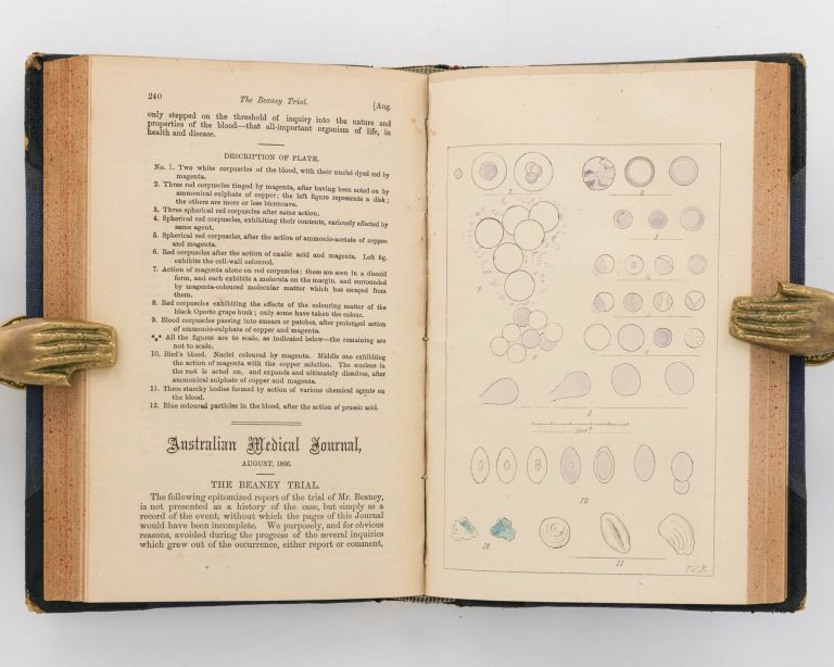 The Australian Medical Journal for 1866. Volume XI. James George BEANEY.