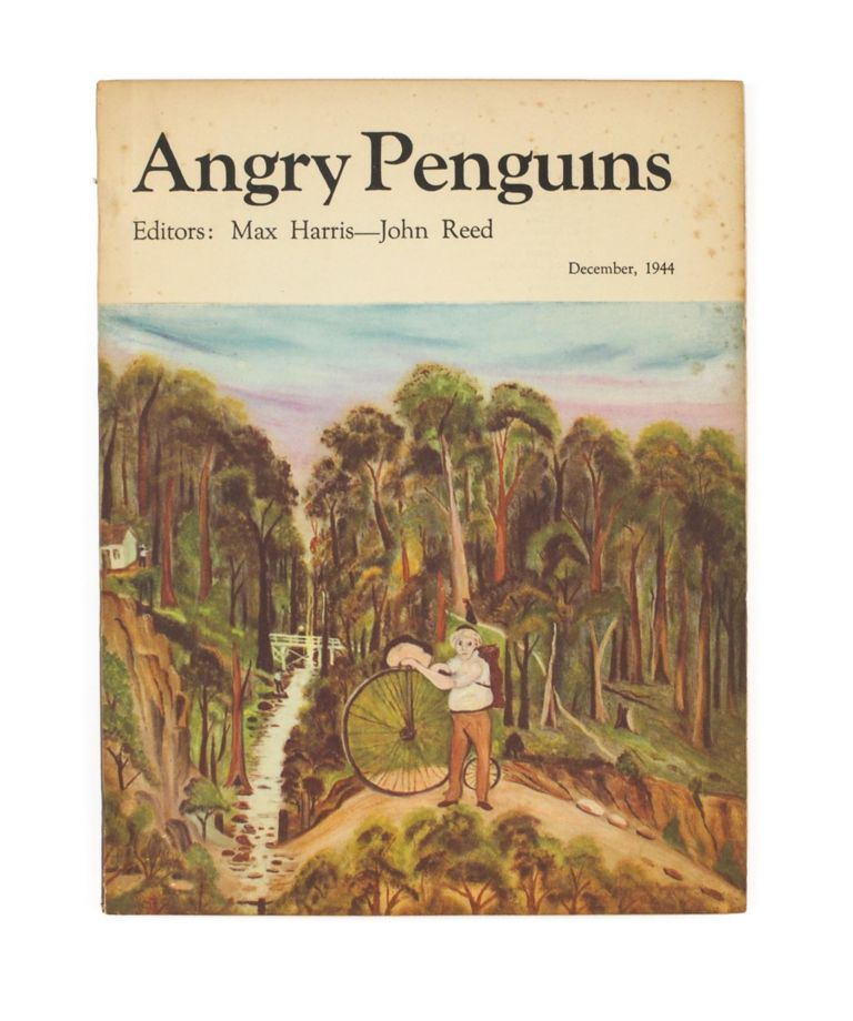 Angry Penguins.. December 1944 [cover title]. Angry Penguins #7, Max HARRIS, John REED.
