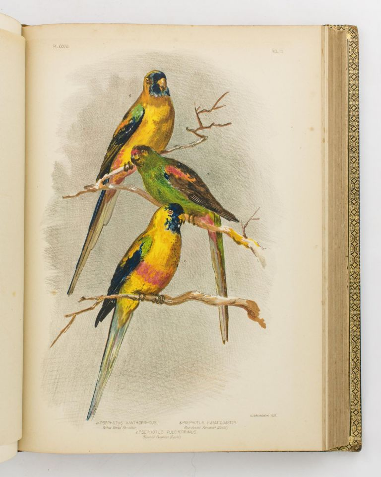 Birds of Australia. Comprising Three Hundred Full-Page Illustrations, with a Descriptive Account of the Life and Characteristic Habits of over Seven Hundred Species. Gracius Joseph BROINOWSKI.