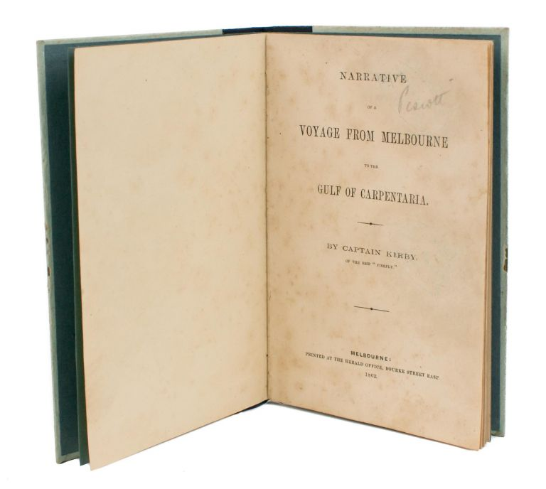 Narrative of a Voyage from Melbourne to the Gulf of Carpentaria. Burke, Wills.