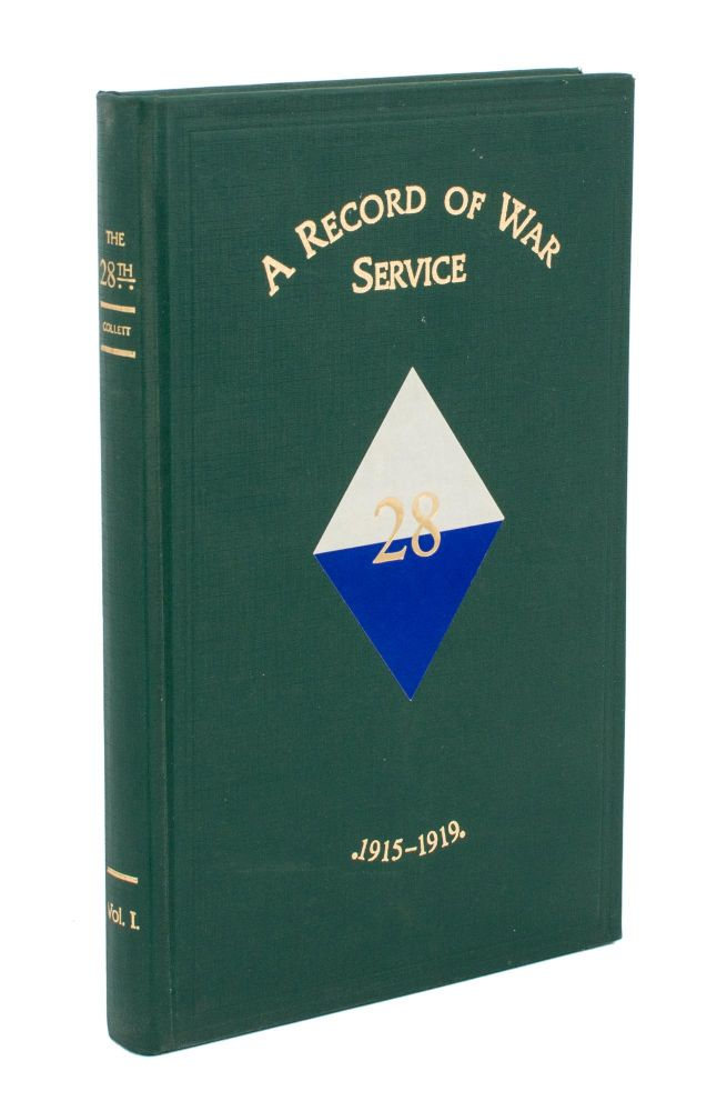 The 28th. A Record of War Service with the Australian Imperial Force, 1915-1919. Volume 1. Egypt, Gallipoli, Lemnos Island, Sinai Peninsula ^[all published]^. 28th Battalion, Colonel Herbert Brayley COLLETT.