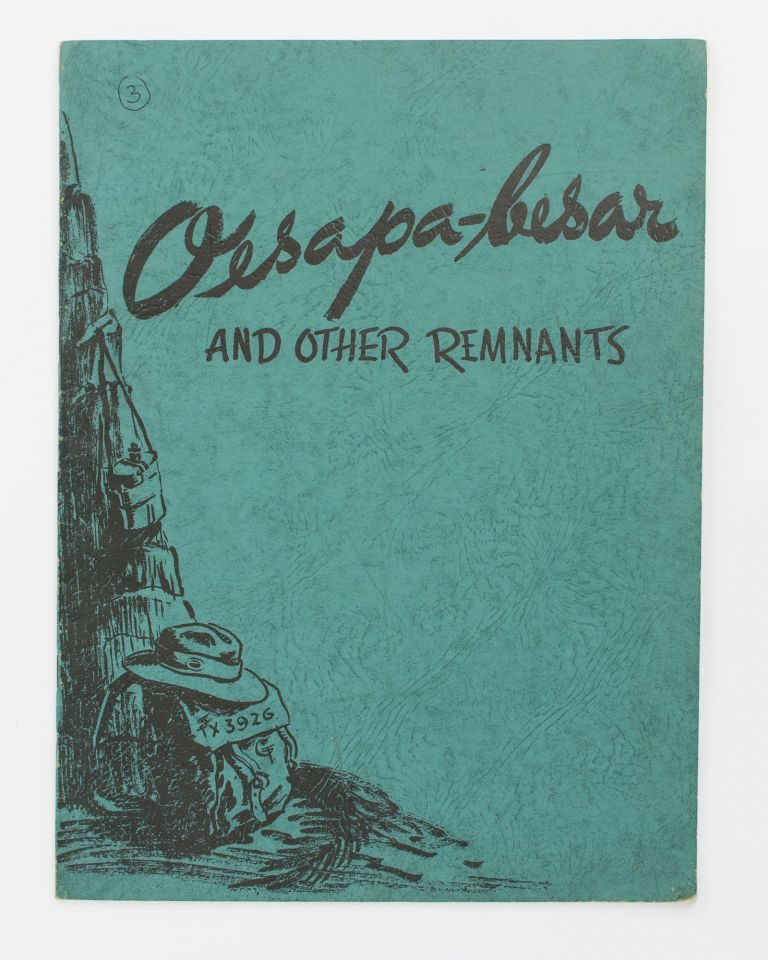 Oesapa-Besar and Other Remnants [cover title]. Geoff TYSON.