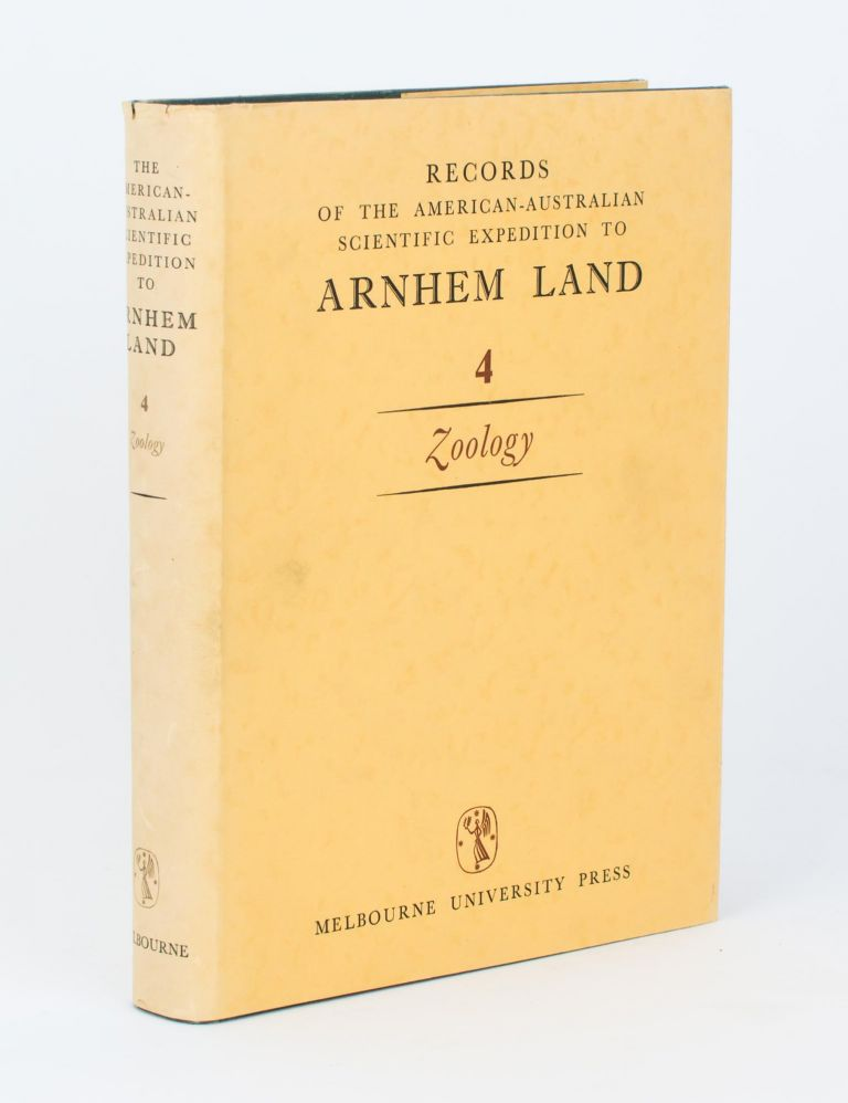 Records of the American-Australian Scientific Expedition to Arnhem Land. [Volume] 4: Zoology. R. L. SPECHT.