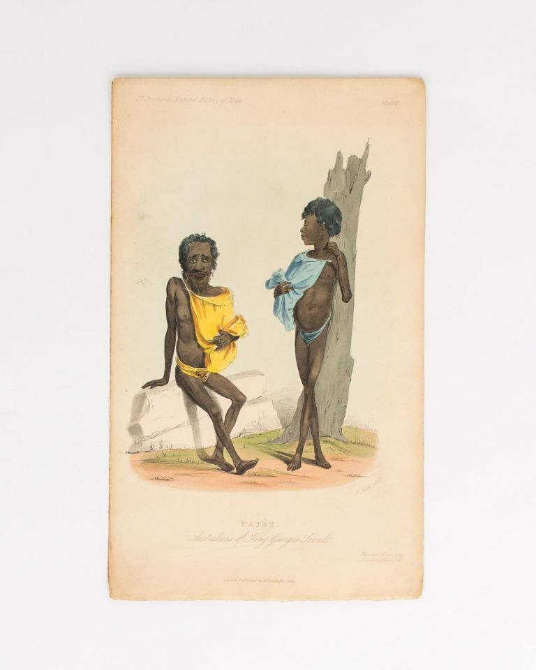 Patêt: Australians of King George's Sound [Western Australia]. Indigenous Portraiture.