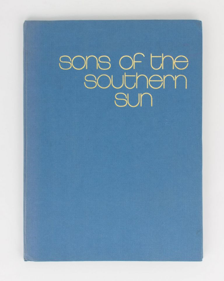 Sons of the Southern Sun. Nude Male Studies from the South Pacific. Ian A. HUXTON, photographer.