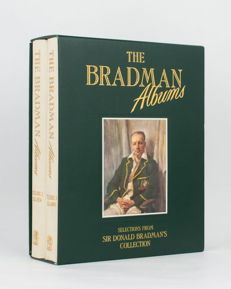 The Bradman Albums. Selections from Sir Donald Bradman's Official Collection. Volume 1: 1925-1934 [and] Volume 2: 1935-1949. Cricket, Don BRADMAN.