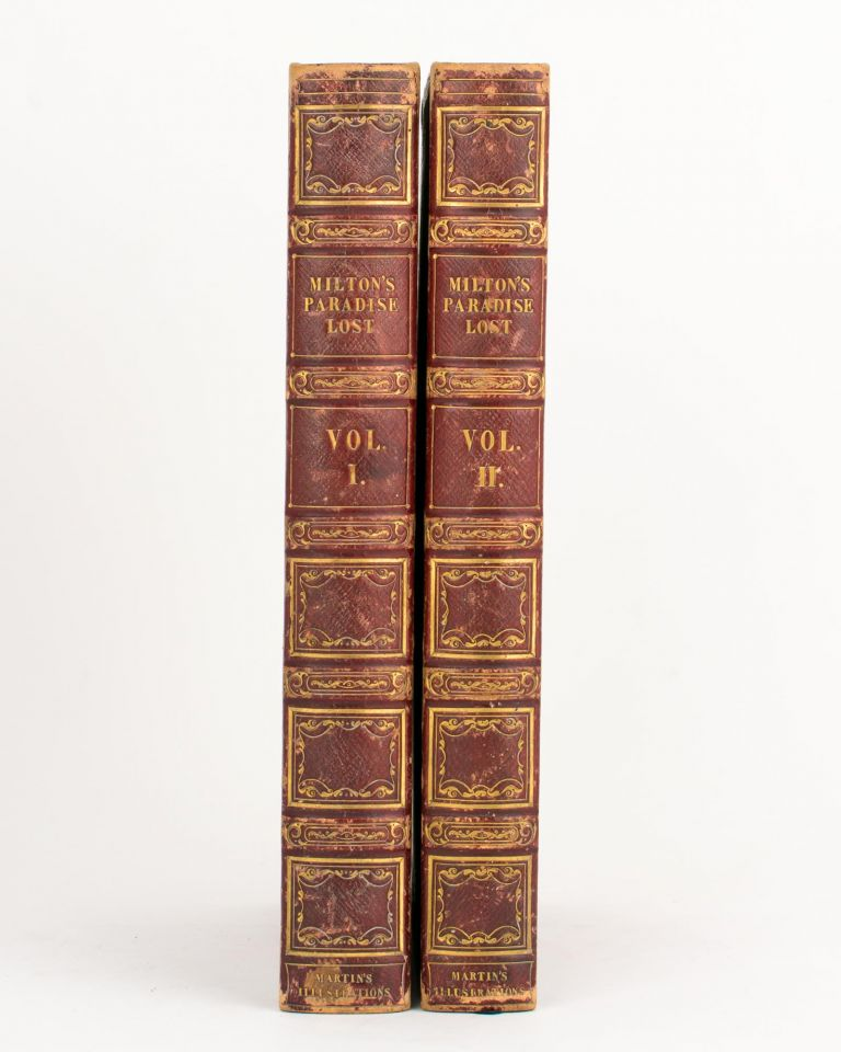 The Paradise Lost of Milton. With Illustrations designed and engraved by John Martin. John MILTON.