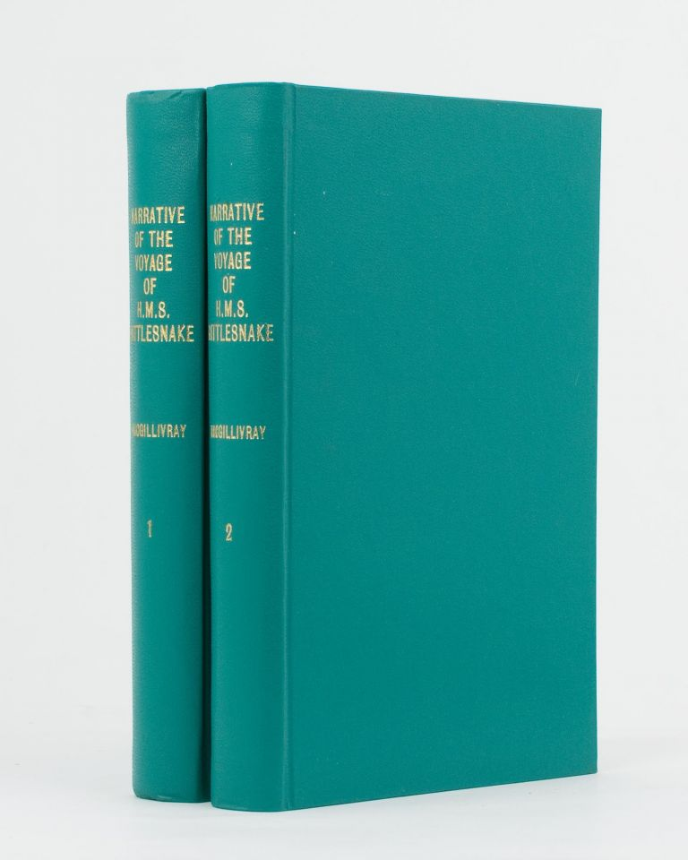Narrative of the Voyage of HMS 'Rattlesnake', commanded by the late Captain Owen Stanley .. during the Years 1846-1850. Including Discoveries and Surveys in New Guinea, the Louisiade Archipelago, etc., to which is added the Account of Mr. E.B. Kennedy's Expedition for the Exploration of the Cape York Peninsula. John MacGILLIVRAY.