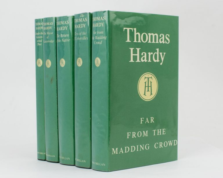 The New Wessex Edition. [Comprising] Far From the Madding Crowd; Tess of the d'Urbervilles; The Return of the Native; The Life and Death of the Mayor of Casterbridge; [and] Under the Greenwood Tree or, The Mellstock Quire. A Rural Painting of the Dutch School. Thomas HARDY.