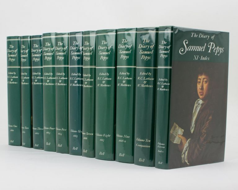 The Diary of Samuel Pepys. A new complete transcription edited by Robert Latham and William Matthews .. [complete in 11 volumes]. Samuel PEPYS.