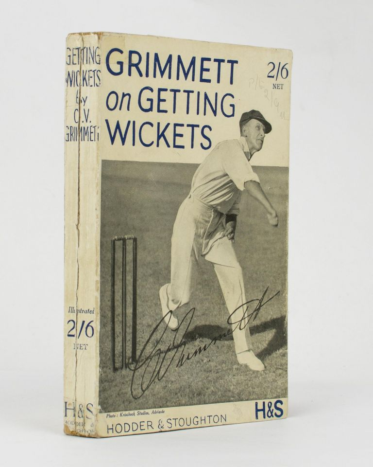 Getting Wickets. Cricket, C. V. GRIMMETT.