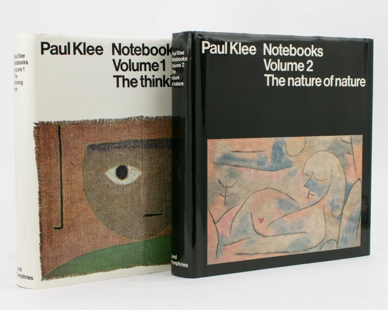 Notebooks. Volume 1: The Thinking Eye. Volume 2: The Nature of Nature. Paul KLEE.