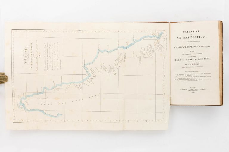 Narrative of an Expedition undertaken under the Direction of the late Mr Assistant Surveyor E.B. Kennedy, for the Exploration of the Country lying between Rockingham Bay and Cape York; by Wm. Carron, one of the Survivors of the Expedition. William CARRON.