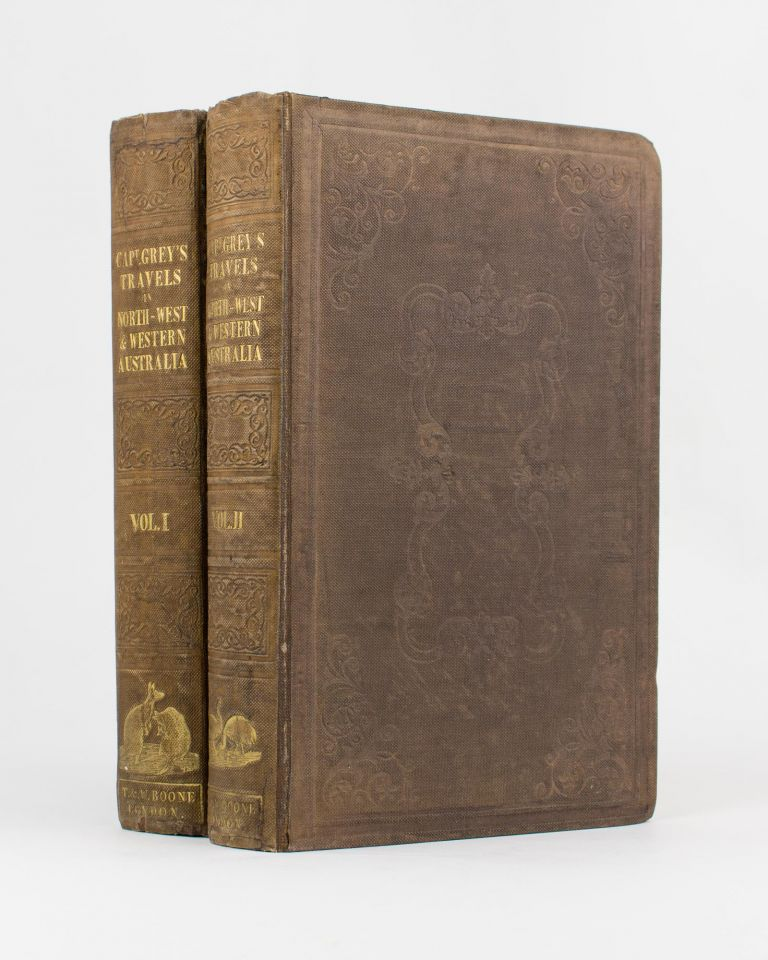 Journals of Two Expeditions of Discovery in North-West and Western Australia, during the years 1837, 38, and 39 ... Describing Many Newly Discovered, Important, and Fertile Districts, with Observations on the Moral and Physical Condition of the Aboriginal Inhabitants, &c. &c. George GREY.