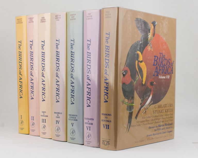 The Birds of Africa [in seven volumes]. Leslie H. BROWN, Kenneth NEWMAN, Emil K. URBAN.