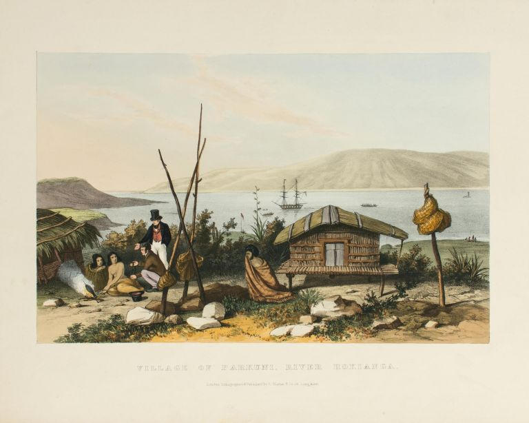 Sketches illustrative of the Native Inhabitants and Islands of New Zealand from Original Drawings by Augustus Earle, Esq., Draughtsman of HMS 'Beagle'. Augustus EARLE.