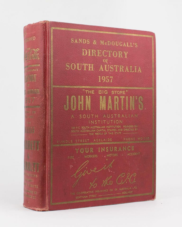 Sands & McDougall's Directory of South Australia 1957