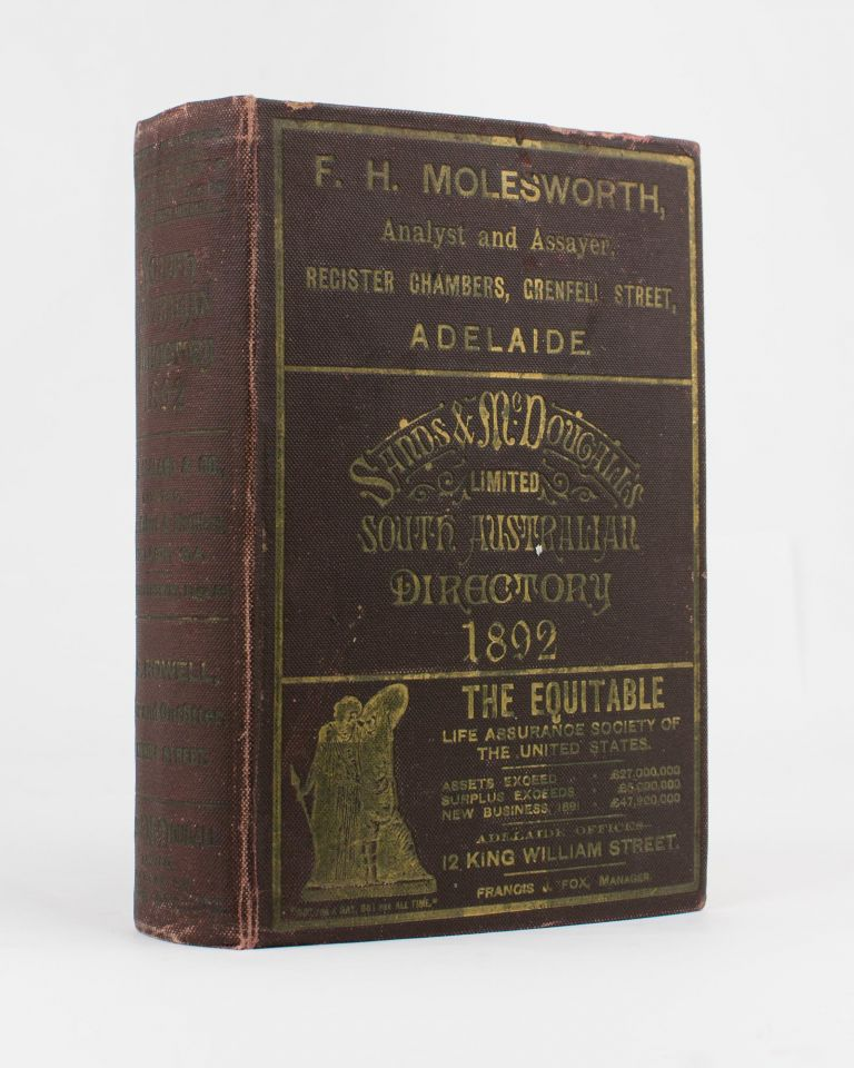 Sands & McDougall's (Limited) South Australian Directory for 1892, with which is incorporated Boothby's South Australian Directory