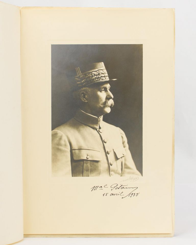 A portrait photograph signed by Marshal Pétain ('Mal Pétain'). Marshal Philippe PETAIN, French Marshal and politician, Henri.