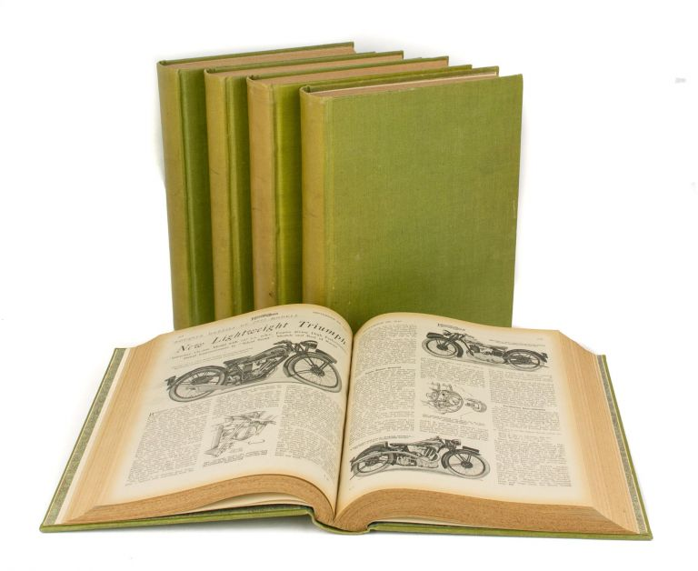 The Motor Cycle. Volume 48, Number 1500, 7 January 1932 to Number 1525, 30 June 1932. [Together with Volumes 49, 50, 51 and 53]. Motorcycling.