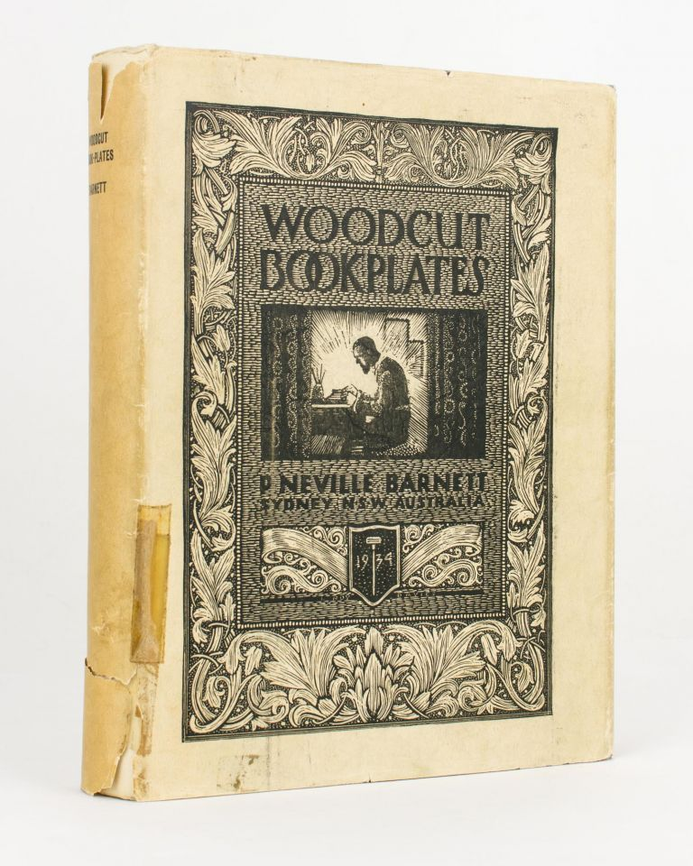 Woodcut Book-Plates. Foreword by Lionel Lindsay. Bookplates, P. Neville BARNETT.