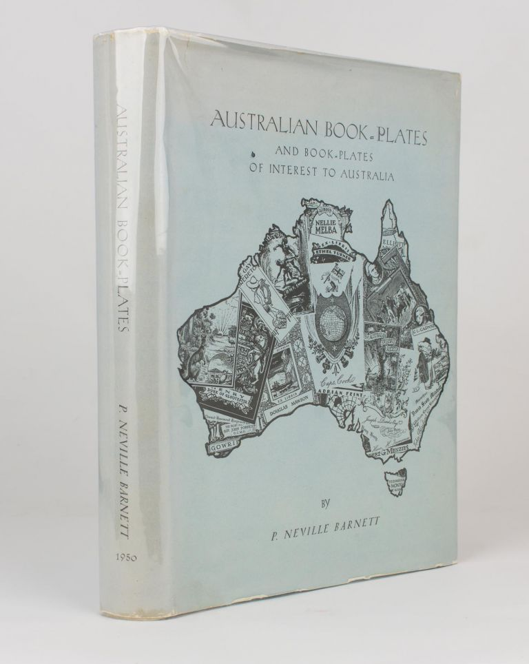 Australian Bookplates and Bookplates of Interest to Australia. Bookplates, P. Neville BARNETT.