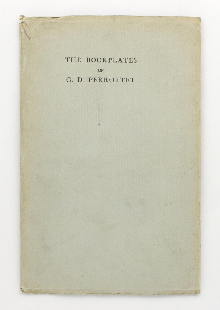 The Bookplates of G.D. Perrottet. Bookplates, H. B. MUIR.