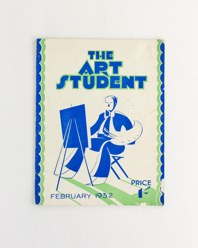 Pictorial Bookplates. Extracts from P. Neville Barnett's Publications. [Contained in] The Art Student. An Illustrated Magazine for Students & Lovers of Art. Volume 1, Number 1, 15 February 1932. Bookplates, P. Neville BARNETT.