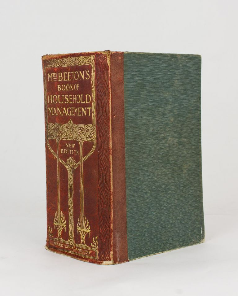 Mrs Beeton's Book of Household Management. A Guide to Cookery in All Branches.. New Edition. Revised, enlarged, brought up to date, and fully illustrated. Isabella BEETON.