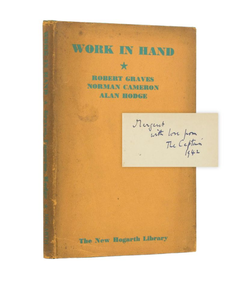 Work in Hand. together, Norman CAMERON, Alan HODGE.