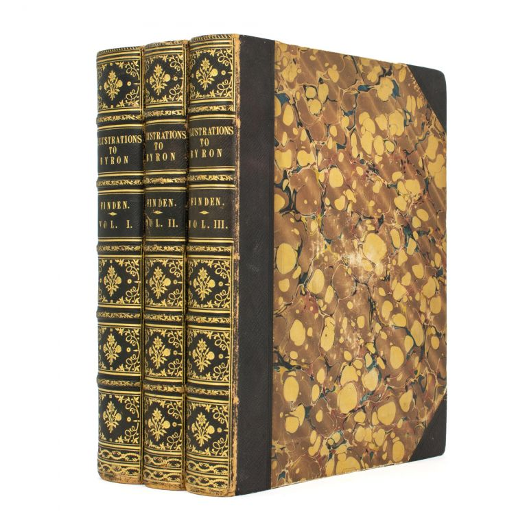 Finden's Illustrations to the Life and Works of Lord Byron. With Original and Selected Information on the Subjects of the Engravings. William BROKEDEN.