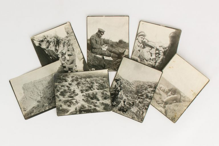 A superb collection of 60 vintage photographs showing life in the trenches at Gallipoli, possibly taken by Albert Percy Bladen, Methodist chaplain with the 23rd Battalion. Gallipoli, Reverend Albert Percy BLADEN.