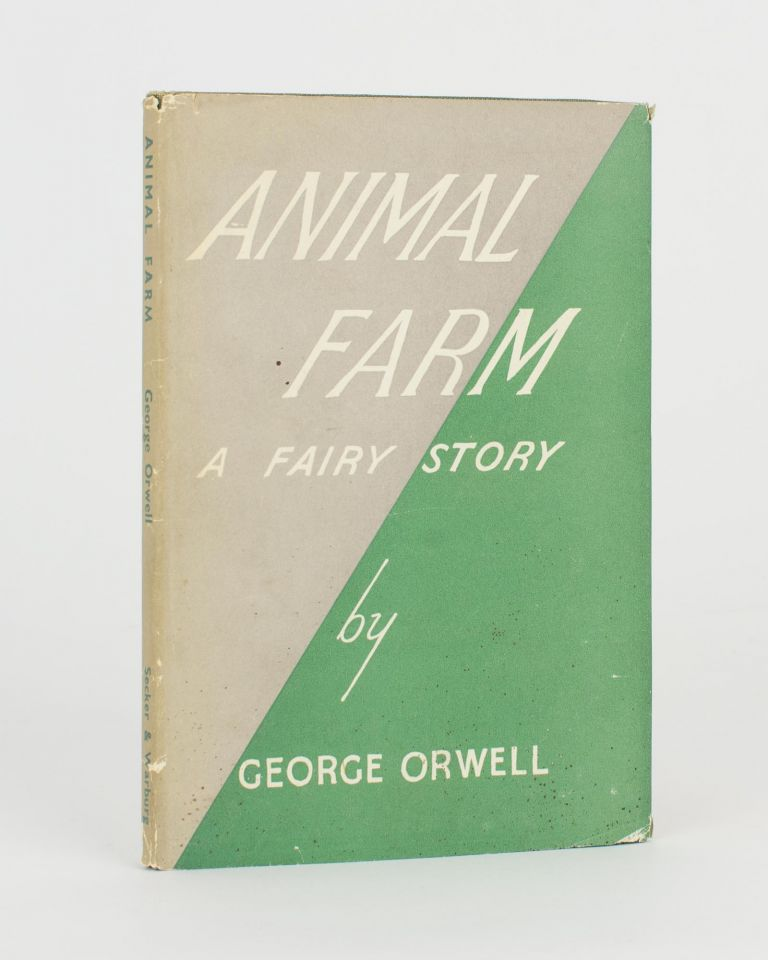 Animal Farm. A Fairy Story. George ORWELL.