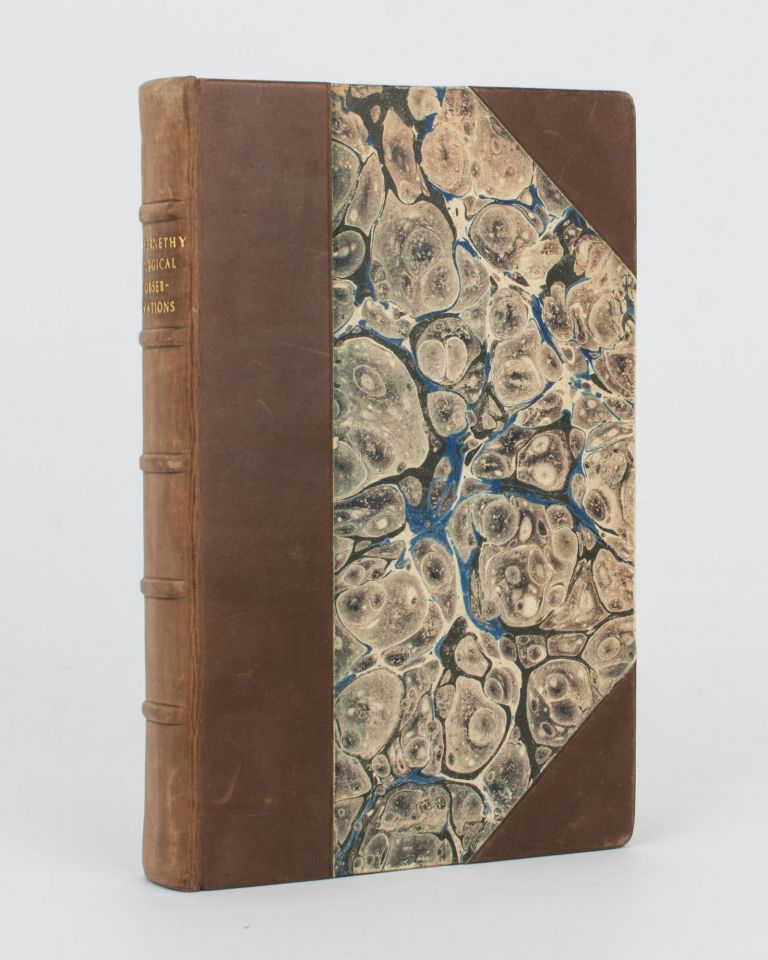 Surgical Observations, containing a Classification of Tumours, with Cases to illustrate the History of Each Species; an Account of Diseases which strikingly resemble the Venereal Disease; and Various Cases illustrative of Different Surgical Subjects. John ABERNETHY.