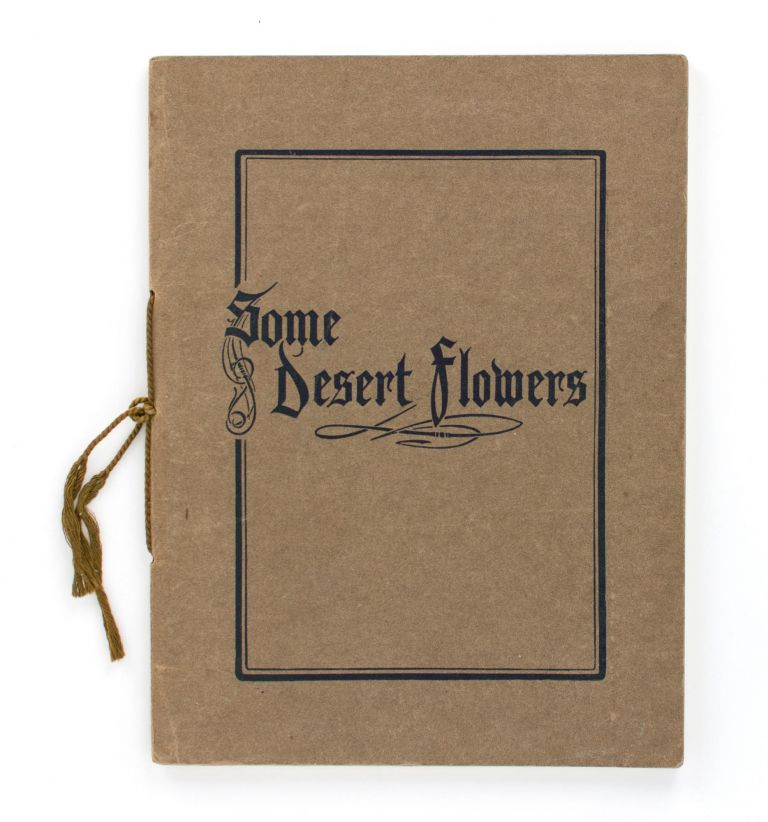 Some Desert Flowers collected near Cairo. Charles BARRETT, Grace Mary CROWFOOT.