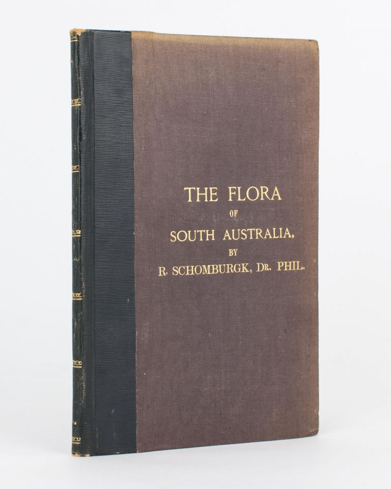 The Flora of South Australia.. From the Handbook of South Australia. R. SCHOMBURGK.