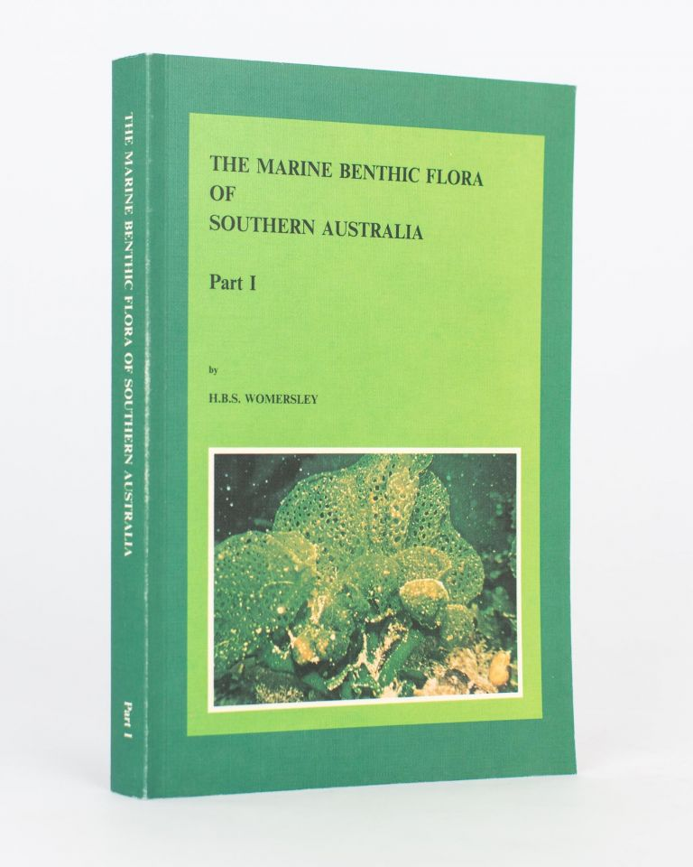 The Marine Benthic Flora of Southern Australia. Part 1. H. B. S. WOMERSLEY.
