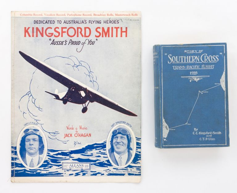 Story of 'Southern Cross' Trans-Pacific Flight, 1928. Aviation, C. E. KINGSFORD-SMITH, C T. P. ULM.