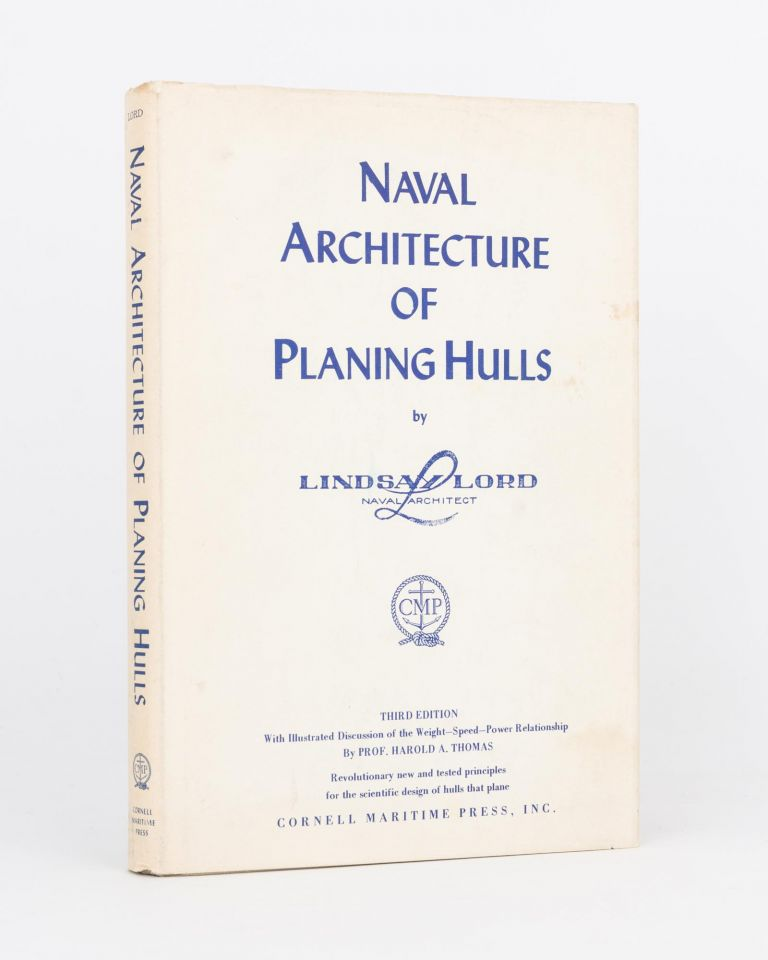 Naval Architecture of Planing Hulls. Lindsay LORD.