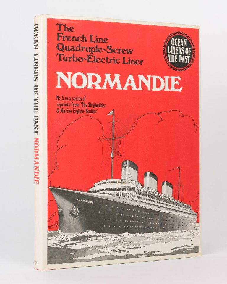 The French Line Quadruple-screw Turbo-electric North Atlantic Steamship 'Normandie'. SS 'Normandie'.