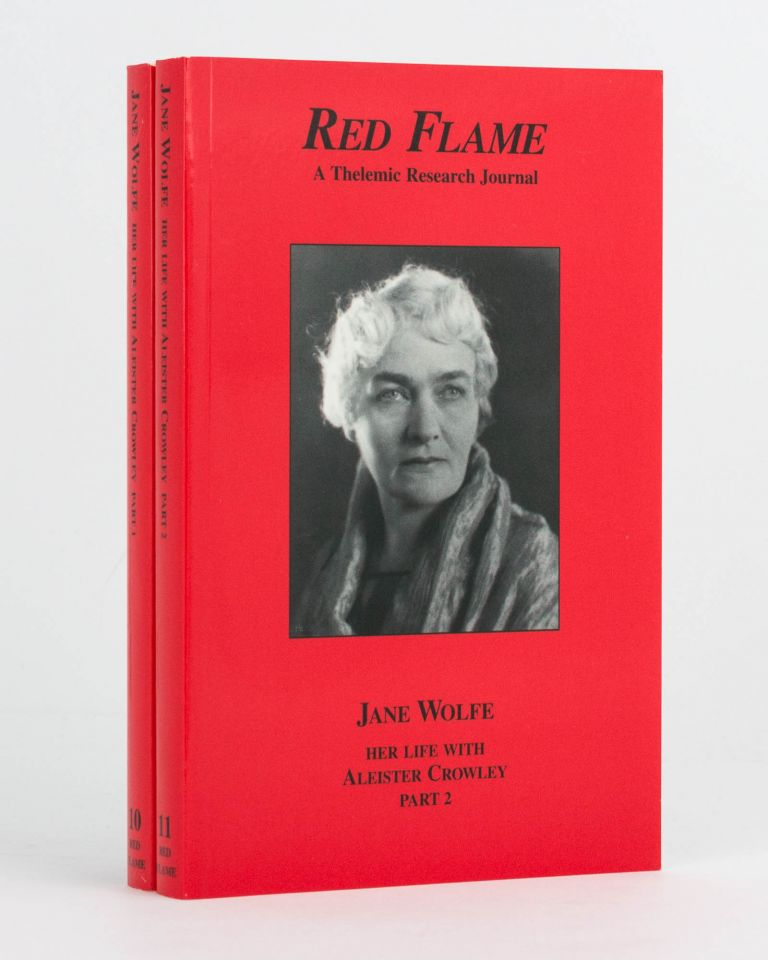 Jane Wolfe. Her Life with Aleister Crowley. Part One. [Plus] ... Part Two. Phyllis SECKLER.