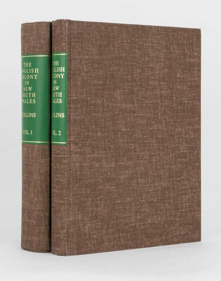 An Account of the English Colony in New South Wales. David COLLINS.